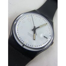 Gb413 Swatch 1991 Fixing Classic Date Authentic