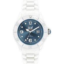 Ice-Watch Ice-White Jeans Blue Dial Unisex watch #SI.WJ.U.S.10