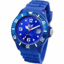 Ice Watch SIBEUS09 Ice-Watch Sili Collection Blue Silicone Unisex Watch SIBEUS09