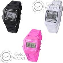 Limit Unisex Digital Quartz Watch With Alarm/chrono/light 3 Colours Rrp £24.99