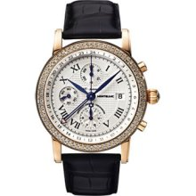 Montblanc Star Gold Chronograph GMT Automatic