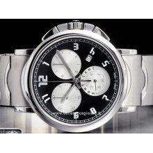 Montblanc watch Summit XL Chronograph NEW 9654 stainless steel watch