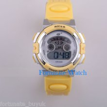 Multi Color Silicon Digital Date Led Sport Watch Kids Ds2814 Waterproof Fashion