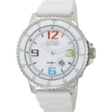 Ritmo Mundo Mens 311/1 White MOP Hercules Automatic Mother-Of-Pearl