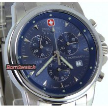 Swiss Military Hanowa Men Watch 'swiss Recruit' Chronograph 06-5010-04-003