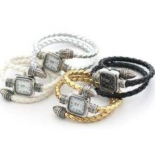 8 Colours Classic Nobile Women's Watch Quartz Wrist Watches Bracelet Clock Hour