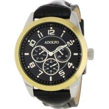 Adolfo Mens 31016b Multifunction 3 Sub Zone Watch