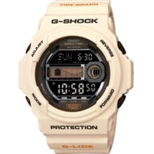 Casio G-Shock GLX150 G-Lide Watch - WHT - white regular