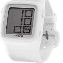 Converse White VR002150 Unisex VR002150 Scoreboard Icon White Digital Watch