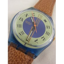 Gn130 Swatch 1993 Master Classic Authentic In Box