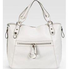 Gucci Icon Bit White Leather Tote Bag Handbag $1600