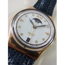 Gx709 Swatch 1992 C.e.o. Date Classic Swiss Made Authentic