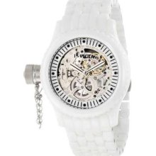 Invicta Women's 1896 Russian Diver Mechanical Silver Skeleton Dial Watch $1495