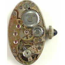Montreaux Watch Co. Complete Running Wristwatch Movement - Spare Parts / Repair