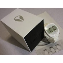 Nixon Wrist Watch The Dash All White | 50m Ladies Day / Date Light W/ Box