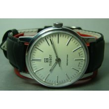 Off White Dial 8774661 Vintage Tissot Seastar Winding Swiss Mens Watch Antique