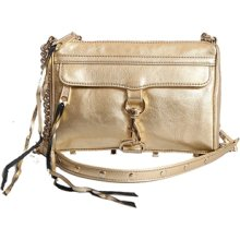 Rebecca Minkoff Mini M.a.c Crossbody Clutch - Gold
