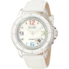 Ritmo Mundo Unisex 312 White Mother-Of-Pearl Sport Automatic