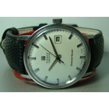 Vintage Tissot Visodate Seastar Seven Winding Date Swiss Mens 8894267 Watch