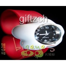 White Flower Children Kids Silicon Slap Wristband Sport Birthday Holiday Watch