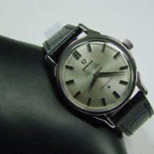60's Omega Constellation Silver Dial Ss Auto Cal:551 Man's