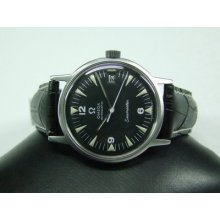 60's Omega Seamaster Auto Black Dial Date Cal:565 Man's Watch
