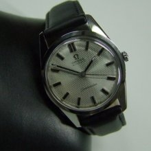 60's Omega Seamaster Automatic Silver Dial Date Cal:550 Man's