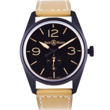Bell and Ross Vintage Mens Automatic Watch BRV123-HERITAGE