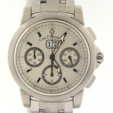 Carl F. Bucherer Stainless Steel Patravi Chrono Date Silver Dial 10611.08.13.21