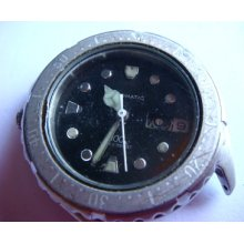 Citizen 100 Meter Jewels Automatic Japan Made No.987435 For Parts