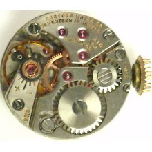 Concord 310 Complete Running Wristwatch Movement - Spare Parts / Repair