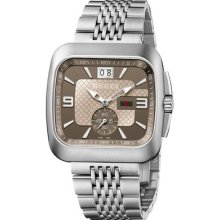 99f4fa26ae1 Gucci G-coupe Stainless Steel Mens Watch Ya131301