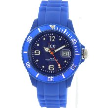 Ice Watch Si.be.us.09 Blue Sili Collection 43mm Fast Ship