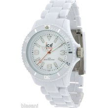 Ice-watch Unisex Cl.we.up.09 Classic Collection White Plastic