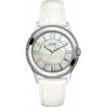 Ladies Silver Moonbeam Guess Ladies Watch W85116l1 Gift