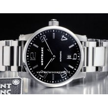 Montblanc watch Timewalker Automatic NEW 105962 stainless steel watch