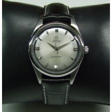 Rare Large 60's Omega Seamaster Silver Dial Auto Cal:501 Man's Watch