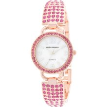 Sofia by Sofia Vergara Ladies Rose Gold & Pink Gradient Watch with