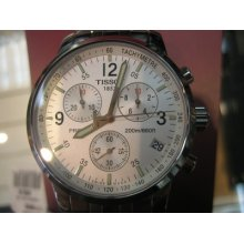 Tissot Prc 200 Swiss Men's Watch Chrono Sapphire All Stainless S Original