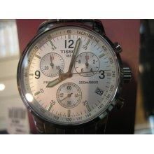 Tissot Prc 200 Swiss Men's Watch Chrono Sapphire All Stainless S Original