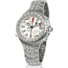 TX Technoluxury Designer Men's Watches, Fly Back 770 Series - Men's Chrono Dual-Time Watch