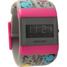 Wize & Ope Unisex Universe Digital Watch Wo-Uni-8 With Black Dial And Touch Screen