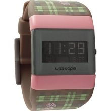 Wize & Ope Unisex Varsity Digital Watch Wo-Var-3 With Black Dial And Touch Screen