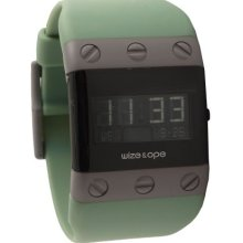 Wize & Ope Unisex Willys Digital Watch Wo-Wil-1 With Black Dial And Touch Screen