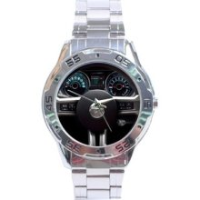 2013 Ford Mustang Stainless Steel Analogue Men's Watch