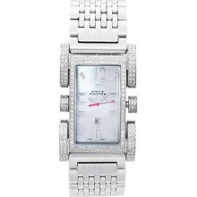 Aqua Master Watches Diamond Ladies 2.75ct Flex White