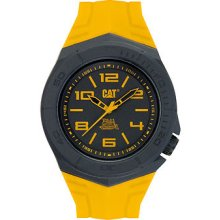 Catepillar La11127137 Wave Yellow Watch With Black And Yellow Dial