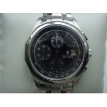 Concord Automatic Chronograph Mens Watch MSRP $5500