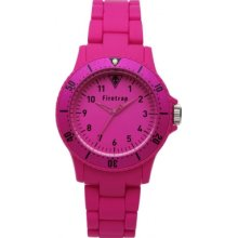 FT1065P Firetrap Pink Rubber Watch