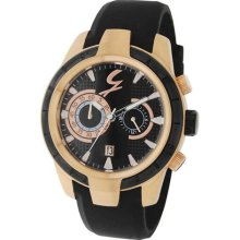 Gattinoni Men's TMJ3153-5 Phoenix IP Rose Gold Luminous Chronogra ...